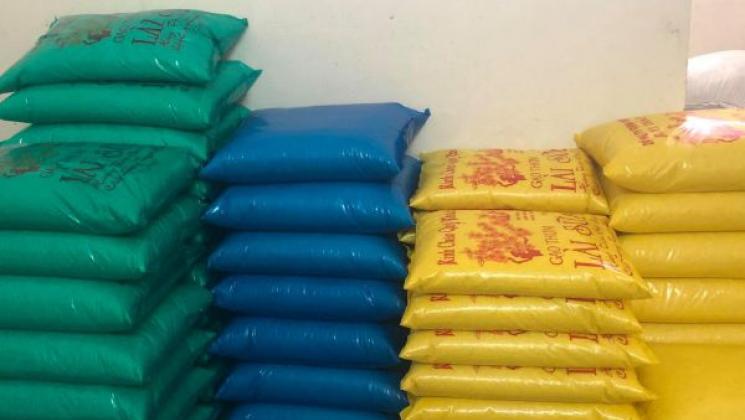 Gạo lài sữa đóng bao 10kg tại Mười thảo